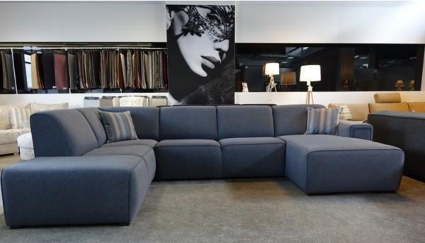 narożnik i sofa tapicerowana - salon meblowy Łódź Livingroom